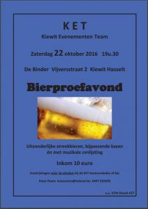 Bierproefavond in De Binder