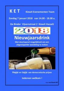 Nieuwjaarsdrink 2018
